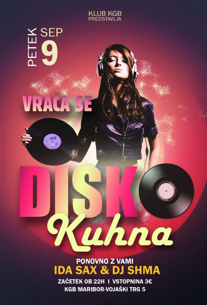 DISKO KUHNA 9 9 2016 party flayer2